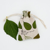 "25 Jewelry Gift Pouch 4x5.5"" Cotton Bags Big Leaf"