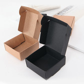 "100 One-Piece Fold n Tuck Box 3"" x 3"" x 1 1/8"" H Kraft"