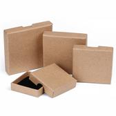 "120 Shipping Friendly Thin Box 3 1/2"" x 3 1/2"" x 5/8""H Kraft"