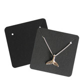 200 Paper Jewelry Card for Pendant Earring Black