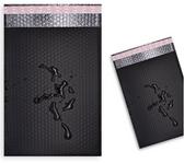 "Poly Bubble Mailer Shipping Envelope 6.25"" x 9"" (18*23cm) Black #0"