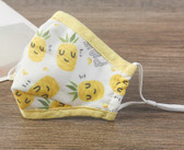 Reusable Cotton Washable Kids Face Mask Individual Sealed Pineapple