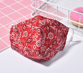 Reusable Cotton Washable Kids Face Mask Individual Sealed MTGC34