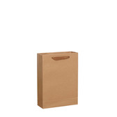 "50 Kraft Paper Shopper Shopping  Bag 5x2x6""(12*6*16cm)"