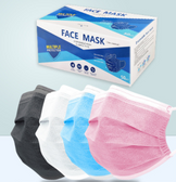 Wholesale Disposable Face Mask - 50/Pack