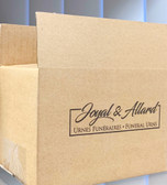 Logo Print Corrugated Shipping Carton Case (1000 Boxes)
