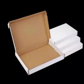"White Shipping Mailer Box 10.5x6.5x2""(27*16*5cm)"