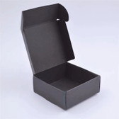 100 One-Piece Folding Soap Craft Box All Sizes Black