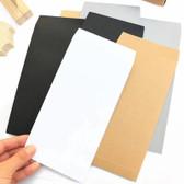 "Paper Packing Storage Bag 5x7"" White (100)"