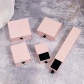Jewellery Slide Drawer Box Matte Pink