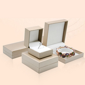 Leatherette Jewelry Box Gold