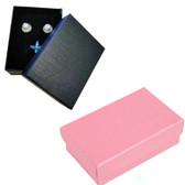 """Jewelry Box 3 1/2"""" x 2 3/4"""" x 1 3/8""""(Foam Insert) Linen-Textured"""