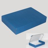 "Corrugated Shipping Mailer Box 7x4x2""H (18*11*5cm) Blue"