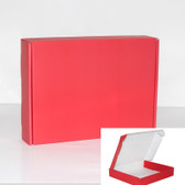 "Corrugated Shipping Mailer Box 7x4x2""H (18*11*5cm) Red"