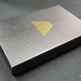 """Custom Print Jewelry Box 6""""x4""""x1"""" (White Insert)"""