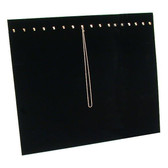 "Multi Chain Easel Display Panel Black Velvet 15""L"
