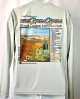 Grand Canyon National Park Men's Rim to Rim to Rim Long-Sleeved Shirt