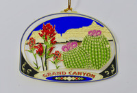Christmas Ornament Grand Canyon Cactus