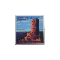 Desert View Watchtower Drink Coaster
