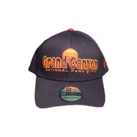 Grand Canyon Baseball Hat Navy with Sunset