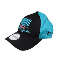 Grand Canyon Baseball Hat Teal with Pink Diamond