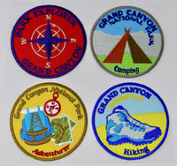 Grand Canyon Park Explorer Patch 4 Pack