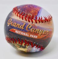 Grand Canyon Color Photo Souvenir Baseball