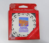 Christmas Ornament Grand Canyon Centennial 2019