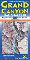 Grand Canyon National Park Sky Terrain Trail Map