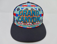 Grand Canyon Wool Baseball Hat Southwest Pattern