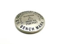 USGS Benchmark Replica Magnet