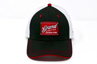 Grand Canyon Mesh Baseball Hat White and Black with Red Patch