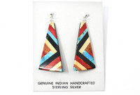 Earrings Santo Domingo Inlay