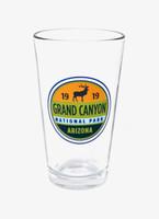Grand Canyon Elk Pint Glass