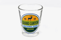 Grand Canyon Elk Shot Glass