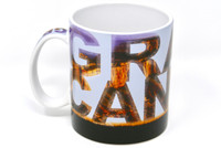 Grand Canyon Mule Silhouette Mug