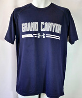 Grand Canyon Under Armour Men's Shirt Navy Blue