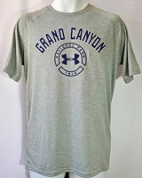 Grand Canyon Under Armour Men's Shirt Heather Gray