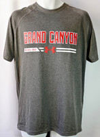 Grand Canyon Under Armour Men's Shirt Charcoal Gray