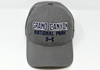 Grand Canyon Under Armour Hat with UA Logo Gray