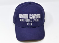 Grand Canyon Under Armour Hat with UA Logo Navy Blue