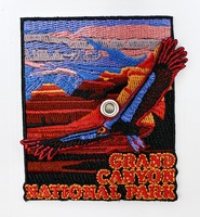 Grand Canyon Patch with Condor