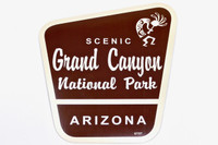 Grand Canyon National Park NPS Style Sticker