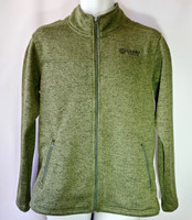 Grand Canyon Men's Fleece Jacket Olive Green