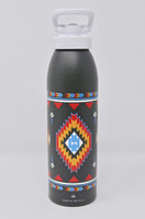 Grand Canyon Gray & Native Design Water Bottle
