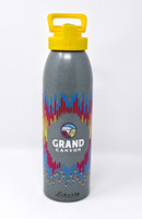 Grand Canyon Silver & Native Design Water Bottle