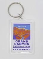 Grand Canyon Centennial 2019 Keychain