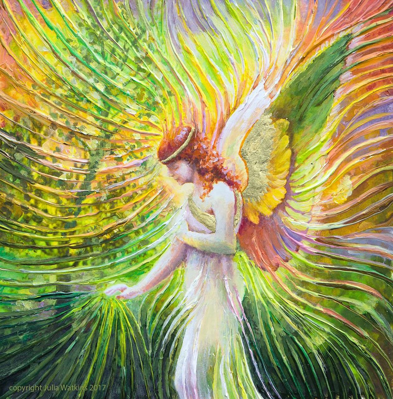 Angel Of Patience Divine Energy Print