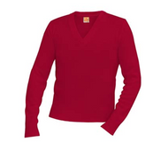 A+ V-Neck Pullover 6500  CARDINAL ***Price does not include logo***