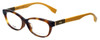 Fendi Designer Reading Glasses FF0072F-7TA in Havana 53mm